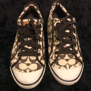 Women's Coach Shoes 8 1/2